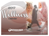 Iowa DOT to introduce new wellness calendar