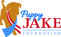 DOTer training service dog for wounded warrior through Puppy Jake Foundation