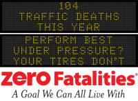Message Monday - Perform best under pressure? Your tires don't