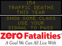 Message Monday - Show some class, use your signal to pass