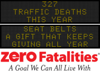 Message Monday - Seat belts, the gift that keeps giving all year
