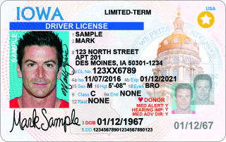 License Dot Today Design Iowa - Driver's Card Starting New Id For Transportation Matters And
