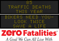 Message Monday: Bikers need you - look twice, save a life