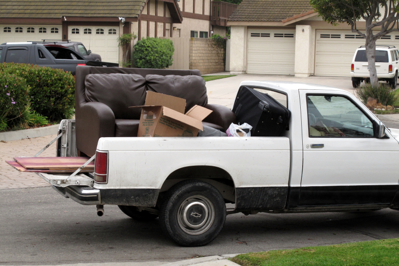 Loaded pickup