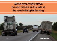 Iowa's Move Over law expanding to include all vehicles with flashing lights