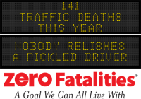 Message Monday - Nobody relishes a pickled driver