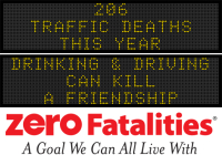 Message Monday - Drinking and driving can kill a friendship