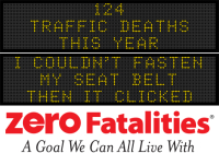 Message Monday - I couldn't fasten my seat belt. Then it clicked
