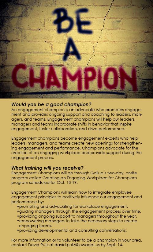 Champion box
