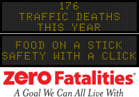 Message Monday - Food on a stick - safety with a click