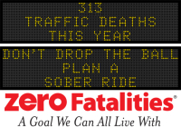 Message Monday -  Don't drop the ball  - Plan a sober ride