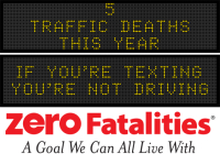 Message Monday - If you're texting, you're not driving