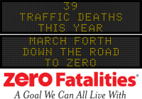 Message Monday - March forth down the road to zero