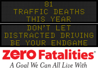 Message Monday - Don't let distracted driving be your endgame