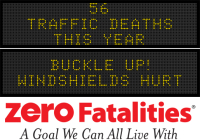 Message Monday: Buckle up! Windshields hurt