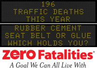 Message Monday - rubber cement, seat belt or glue - which holds you?