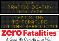 Message Monday- That's the temperature, not the speed limit