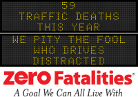 Message Monday - We pity the fool who drives distracted