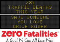 Message Monday -Save someone you love. Driver sober