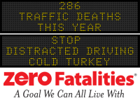 Message Monday: Stop distracted driving cold turkey