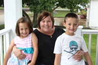 SE Iowa family credit seat belts for saving them in a crash