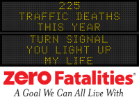 Message Monday - Turn signal, you light up my life