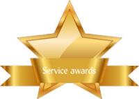 October 2019 Service awards