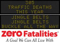 Message Monday - Jingle belts, jingle belts, buckle all the way