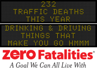 Message Monday - Drinking & Driving - things that make you go hmmm