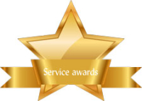 January 2020 Service awards