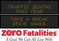 Message Monday - Take a break, drive awake