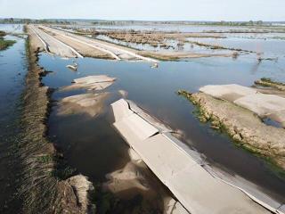 6-26-19 Iowa 2 west of I-29 flooding