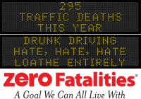Message Monday - Drunk driving - hate, hate, hate. Loathe entirely