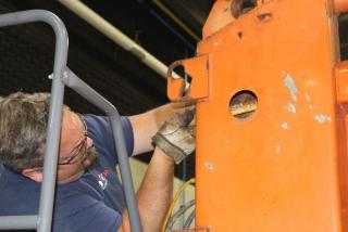 Repairing a truck
