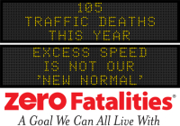 Message Monday - Excess speed is not our