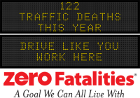 Message Monday - Drive like you work here