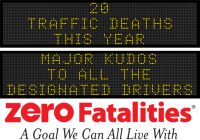 Message Monday - Major kudos to all the designated drivers