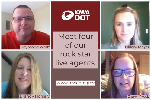 Live agents