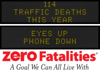 Message Monday - Eyes up, Phone down
