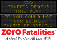 Message Monday - If you could use your blinker, that'd be great...