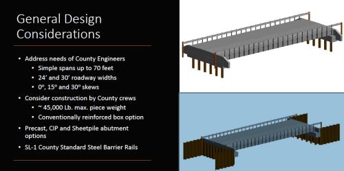 Bridge considerations