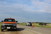 Updated flagger and work zone set up training