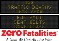 Roadside Chat - Fun fact: seat belts save lives