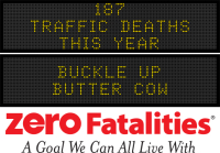 Roadside Chat - Buckle Up Butter Cow