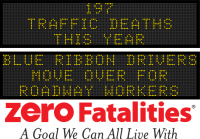 Roadside Chat - Blue Ribbon Drivers move over for roadway workers