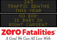 Roadside chat: So big! Is baby in right carseat?