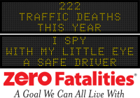 Message Monday - I spy with my little eye, a safe driver