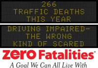 Message Monday - Driving impaired- the wrong kind of scared