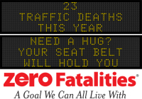 Message Monday - Need a hug? Your seat belt will hold you