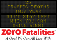 Message Monday - Don't stay left when you can drive right